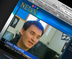 Josh Prowse Gives Up Lent on CTV News